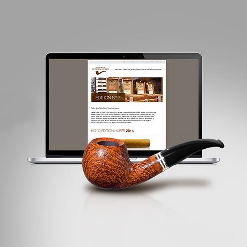 Pfeifen Huber | Online- und Newsletter-Marketing