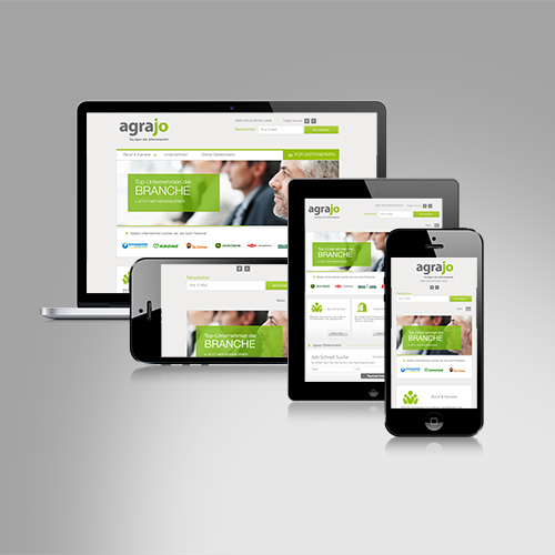agrajo.com | Classic- & Online-Branding, Karriere-Portal