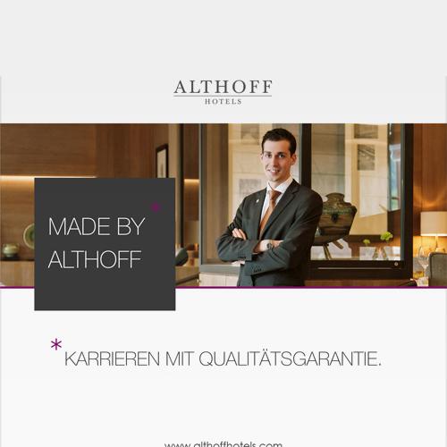 ALTHOFF HOTELS | HR-Kampagne
