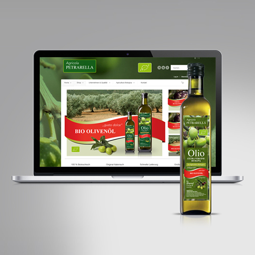 Petrarella | Classic- und Online-Branding