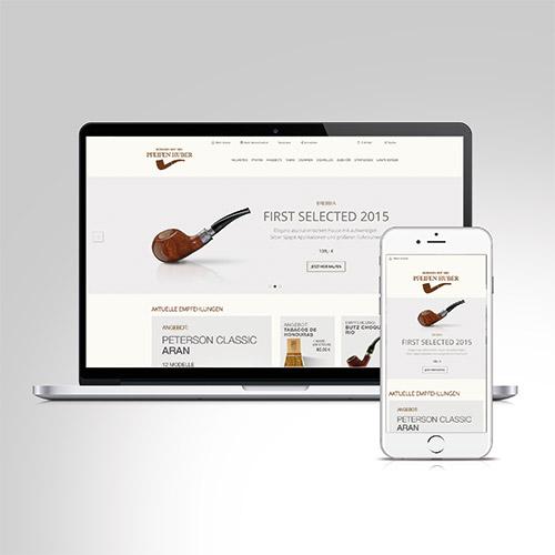 Pfeifen Huber | Online Branding / Onlineshop