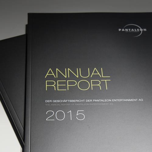 PANTALEON ENTERTAINMENT AG | Geschäftsbericht 2015