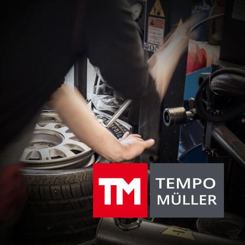 TEMPO MÜLLER | CLASSIC- UND ONLINE BRANDING