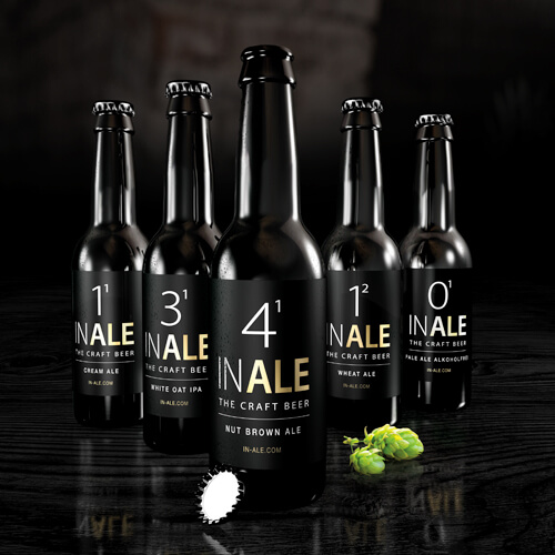 INALE | THE CRAFT BEER – CLASSIC- UND ONLINE BRANDING: PRODUCT-LAUNCH