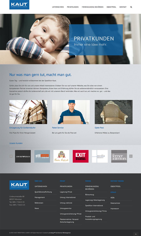 Kaut classic und online branding corporate design for Online architect services