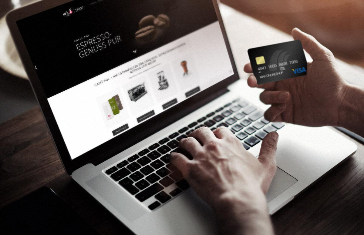 caff pol online branding entwicklung onlineshop sl. Black Bedroom Furniture Sets. Home Design Ideas