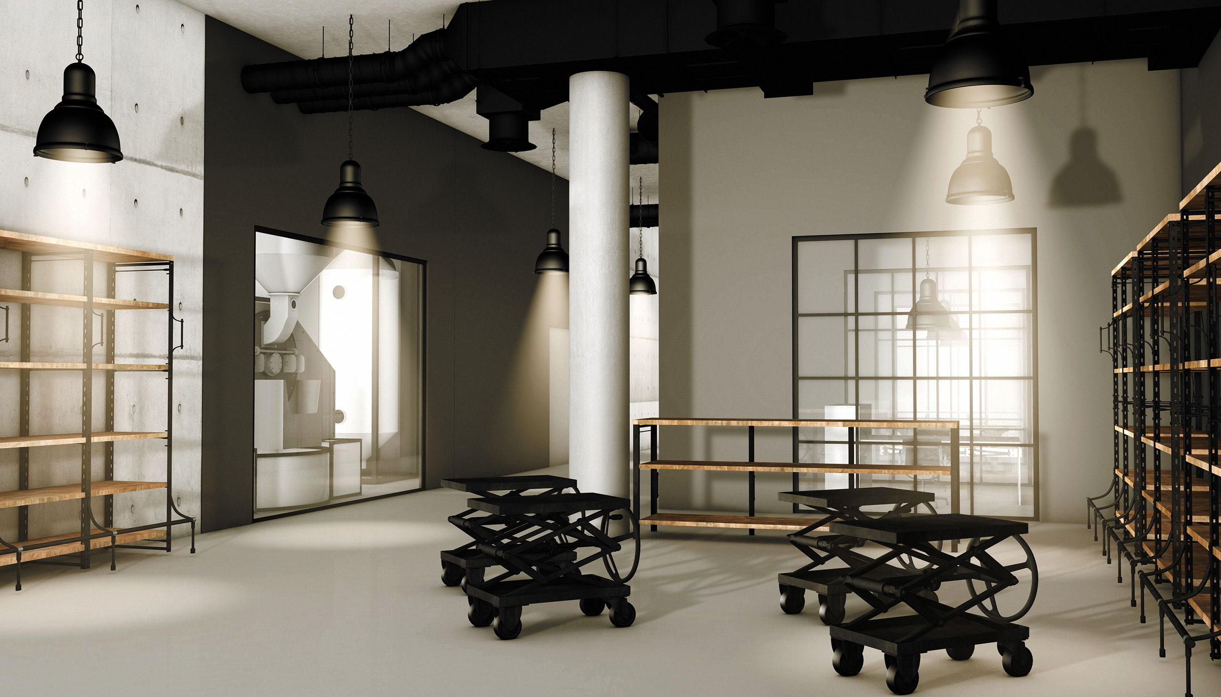 CAFFE POL Interieur Design